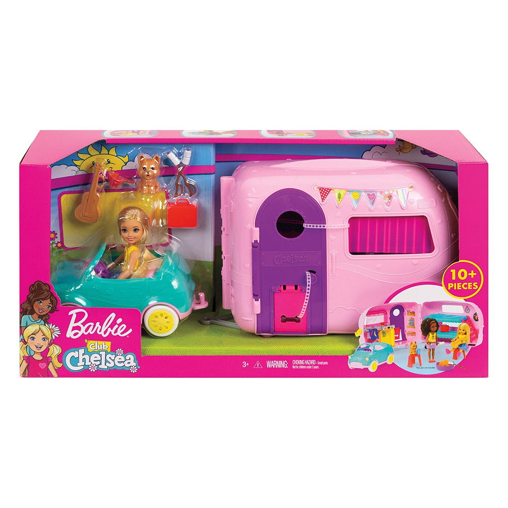 Barbie Club Chelsea - Campeur