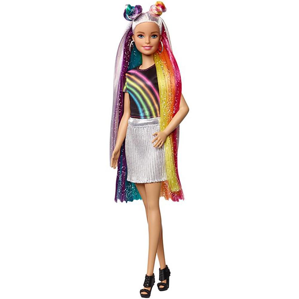 Barbie - Poupée Sparkle Hair