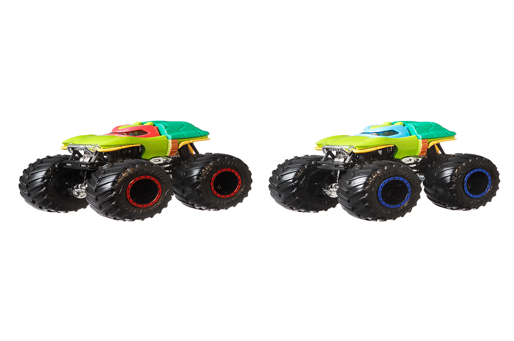Monster Trucks - Camions Hot Wheels Démolition Doubles assortis