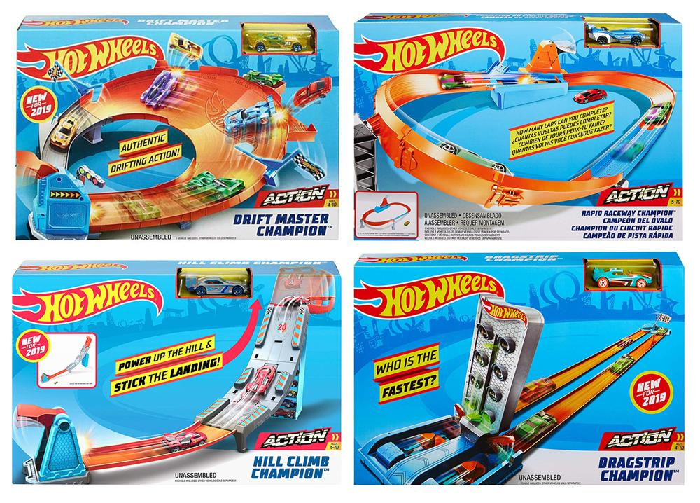 Hot Wheels - Piste champion