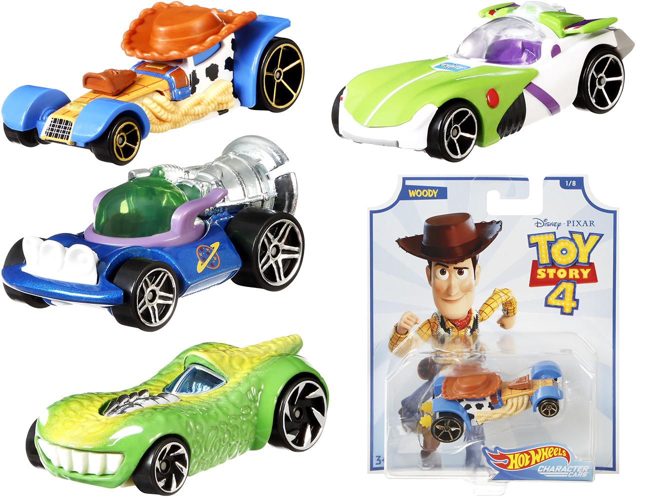 Hot Wheels - Histoire de jouets 4 Voiture assorties