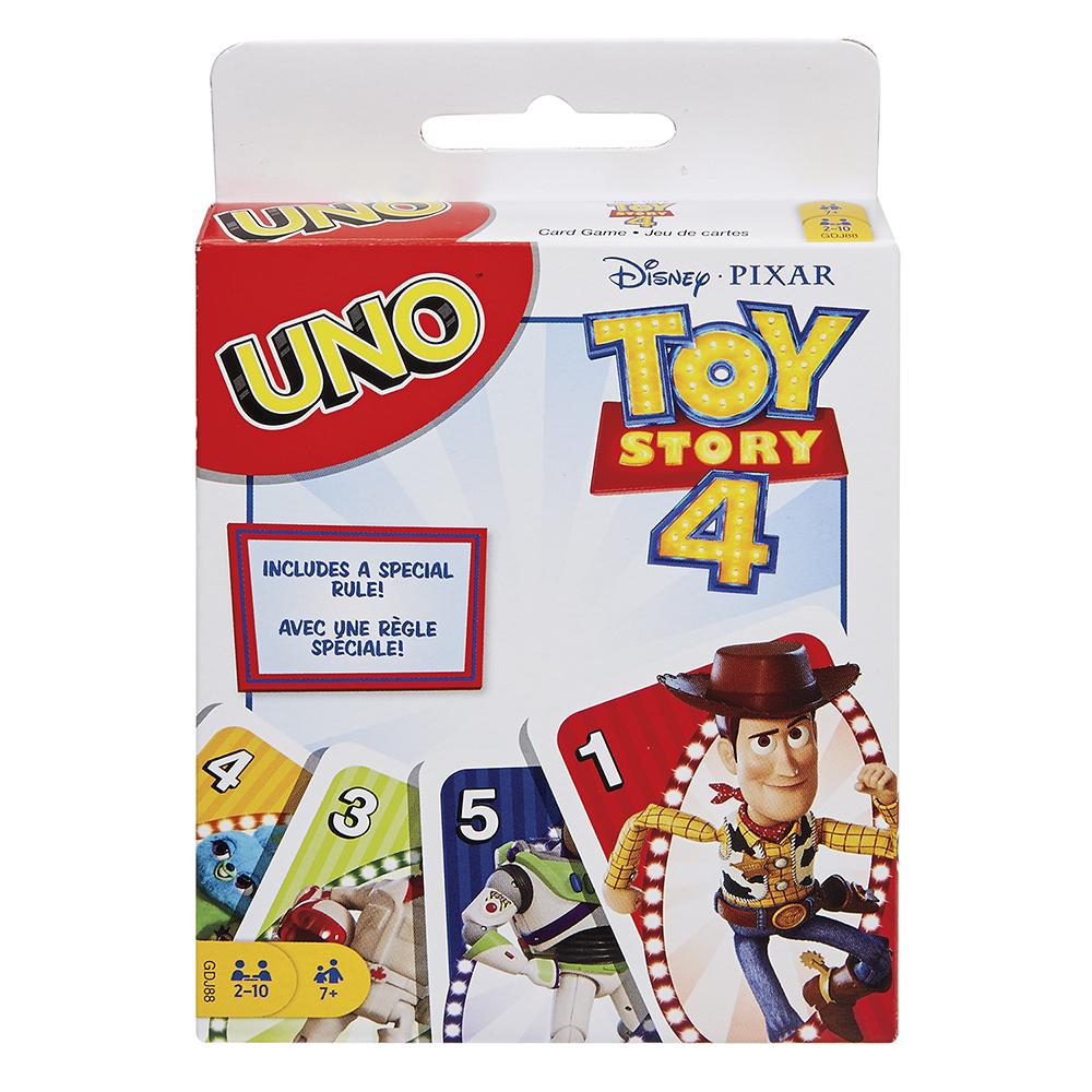 Jeu Uno - Histoire de jouets 4
