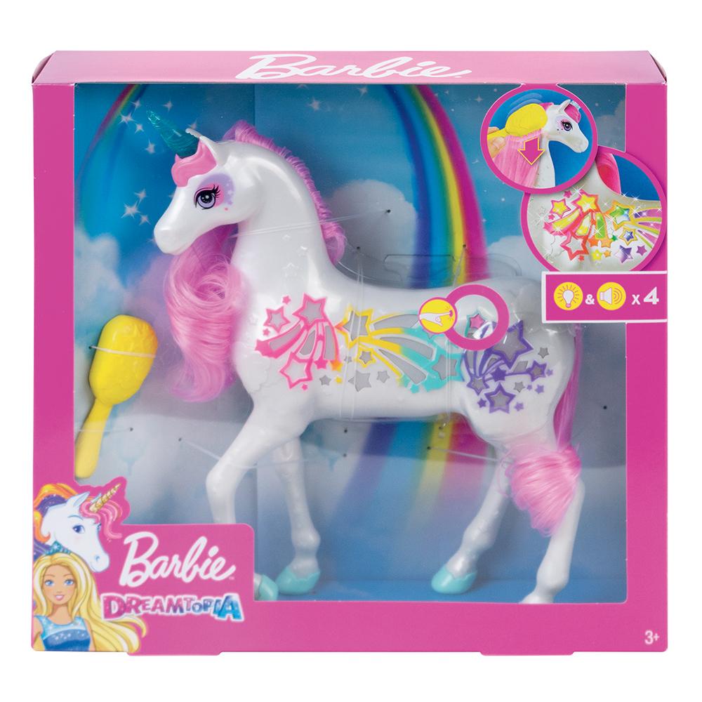 Barbie Dreamtopia - Licorne Brush & Sparkle