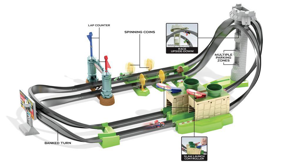 Hot Wheels - Mario Kart Circuit simple