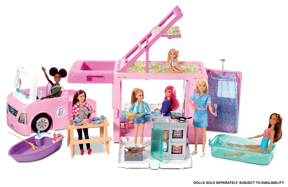 Barbie - Autocaravane de rêve 3-en-1