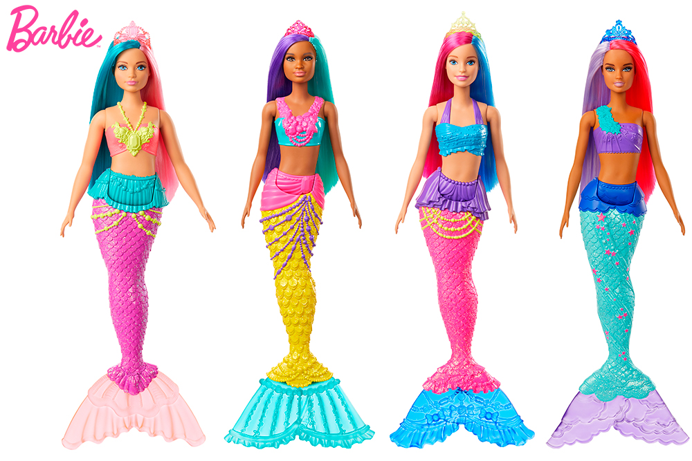 Barbie Dreamtopia - Sirène assorties