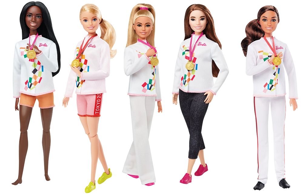 Barbie - Poupée Olympienne assorties