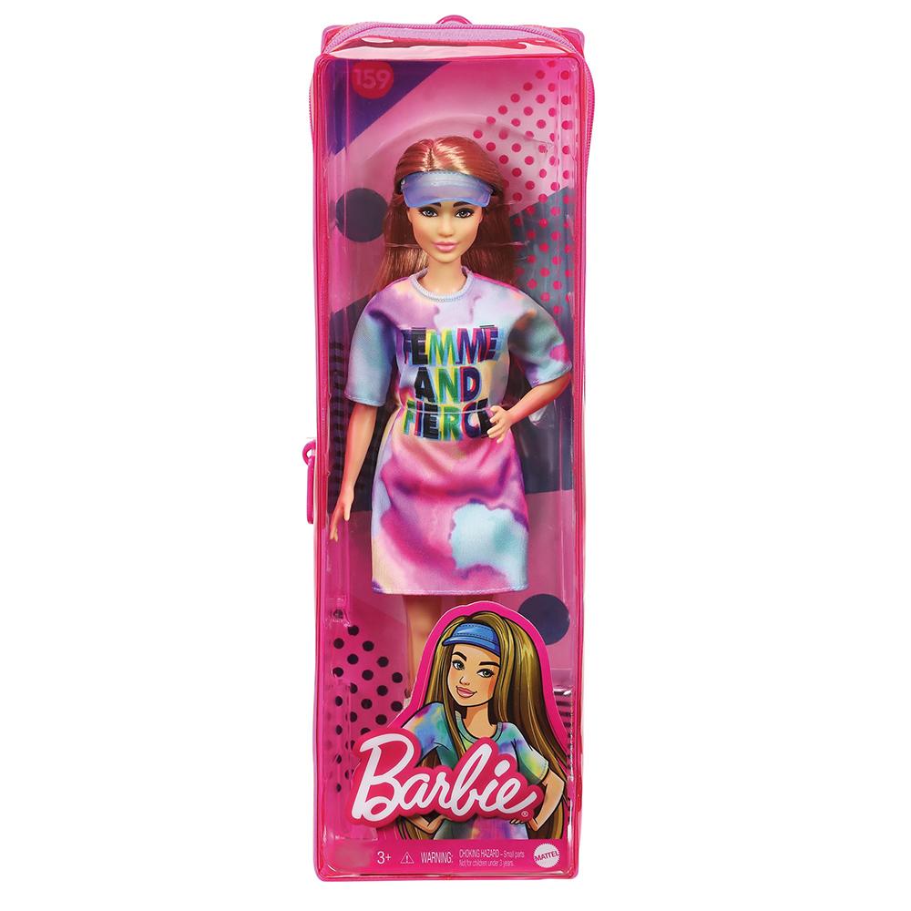 Barbie Fashionistas - Poupée Robe Tie Dye