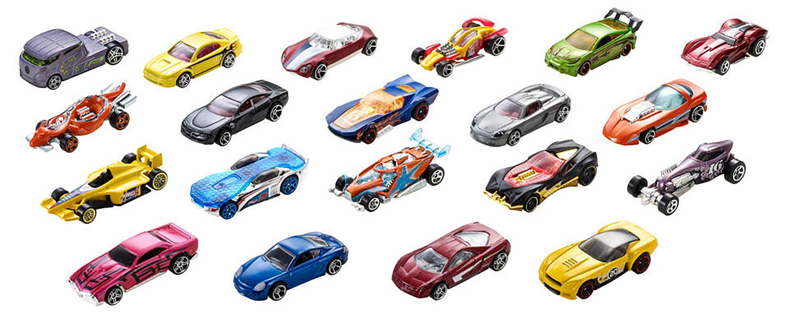 Hot Wheels Ensemble de 20 voitures