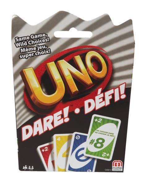 Jeu Uno - Défi