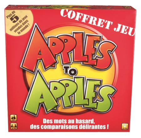 Jeu Apple to Apple Version Française