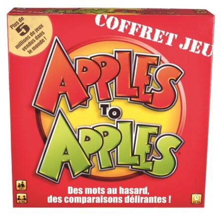 Jeu Apple to Apple Version Française