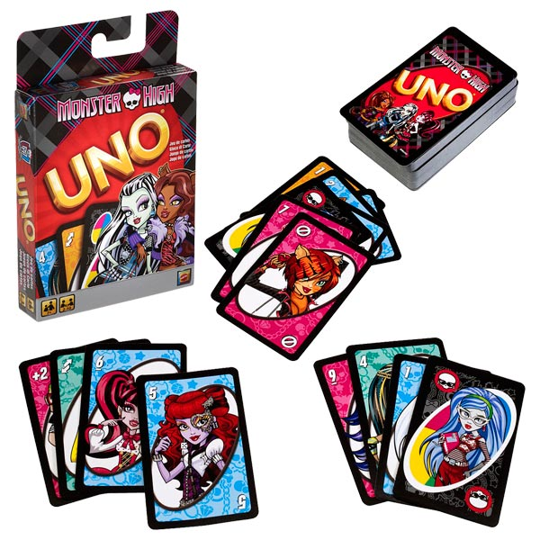 Jeu Uno - Monster High