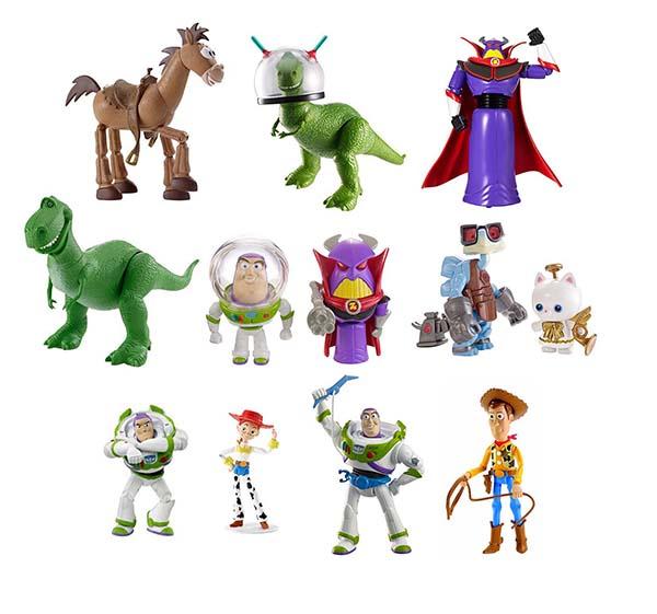 Histoire de jouets Figurines assorties