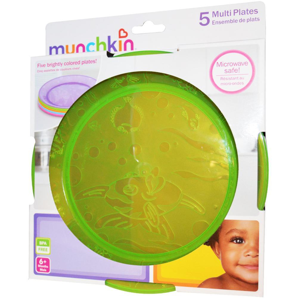 Munchkin - 5 assiettes multicolores