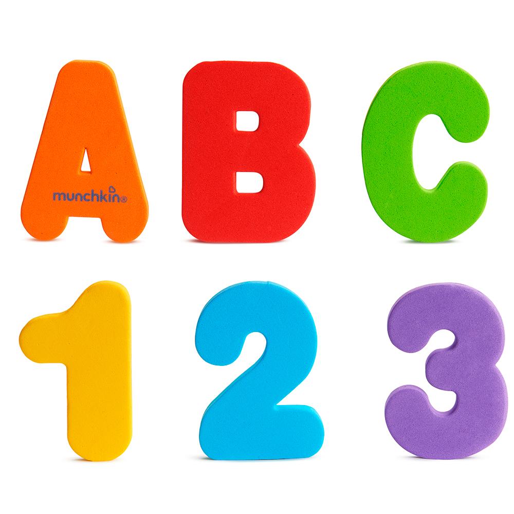 Munchkin - Lettres et chiffres pour le bain
