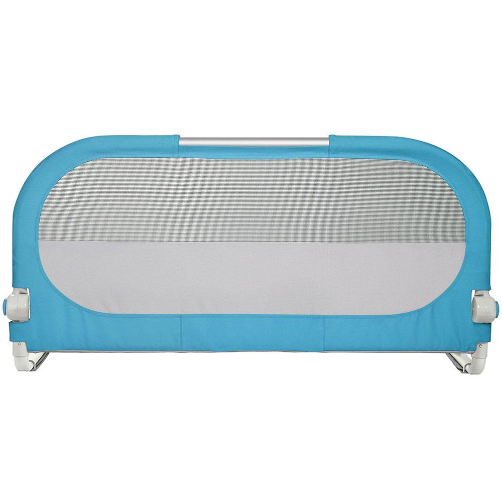 Barrière de lit bleue