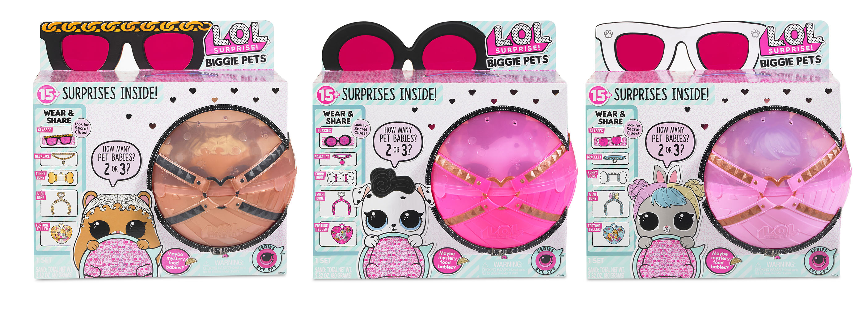 L.O.L. Surprise! - Biggie Pet assortis