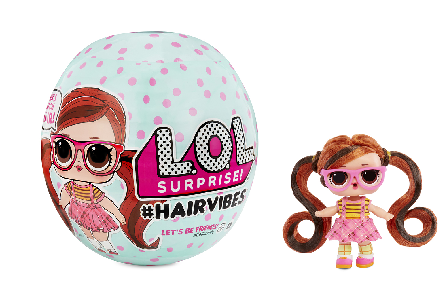 L.O.L. Surprise! -  Hairvibes assortis