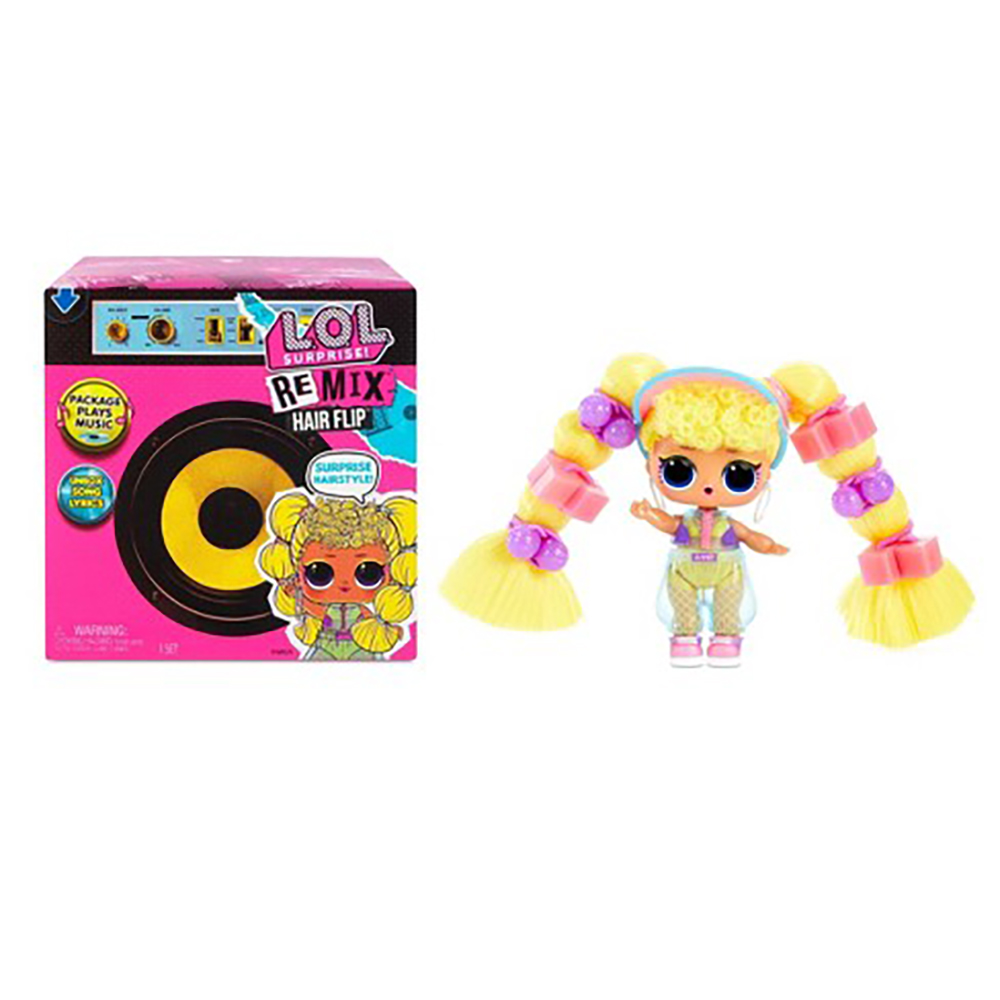 L.O.L. Surprise! - Remix Hair Flip Dolls assorties