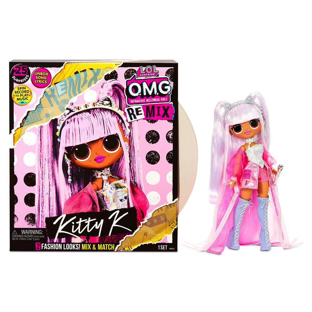 L.O.L. Surprise! - OMG Remix Kitty Queen