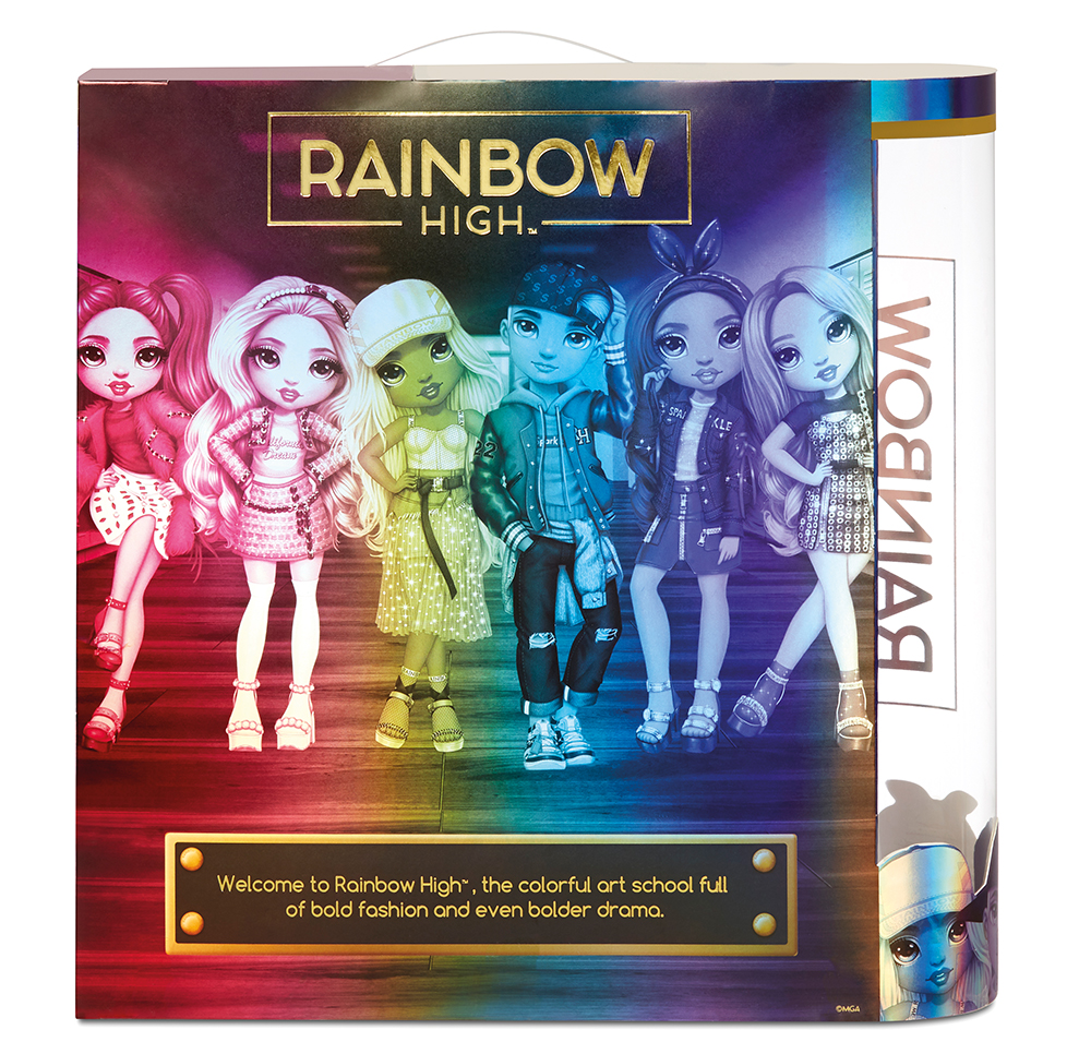 Rainbow High - Poupée Mode Rose