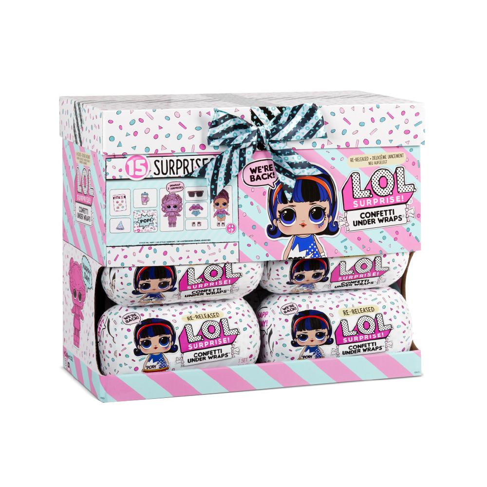 L.O.L. Surprise!-Confetti under wrap assorti