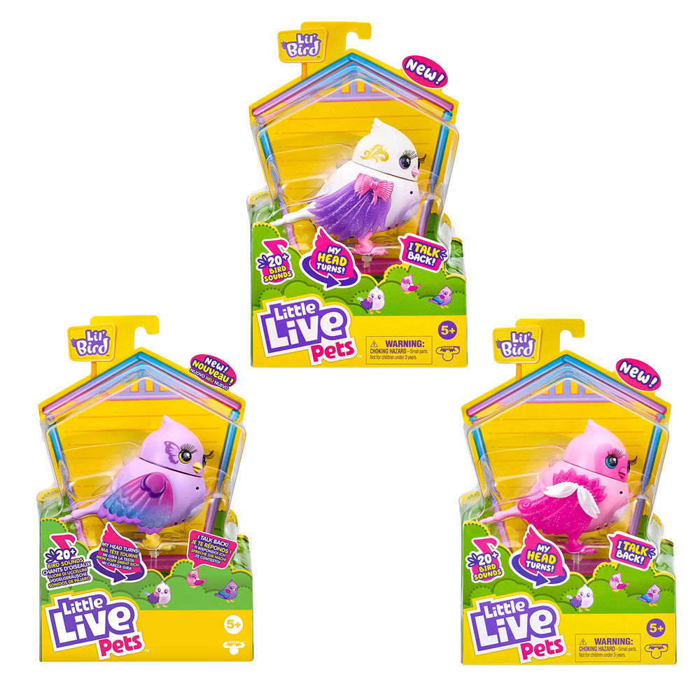 Little Live Pets - Oiseau assortis