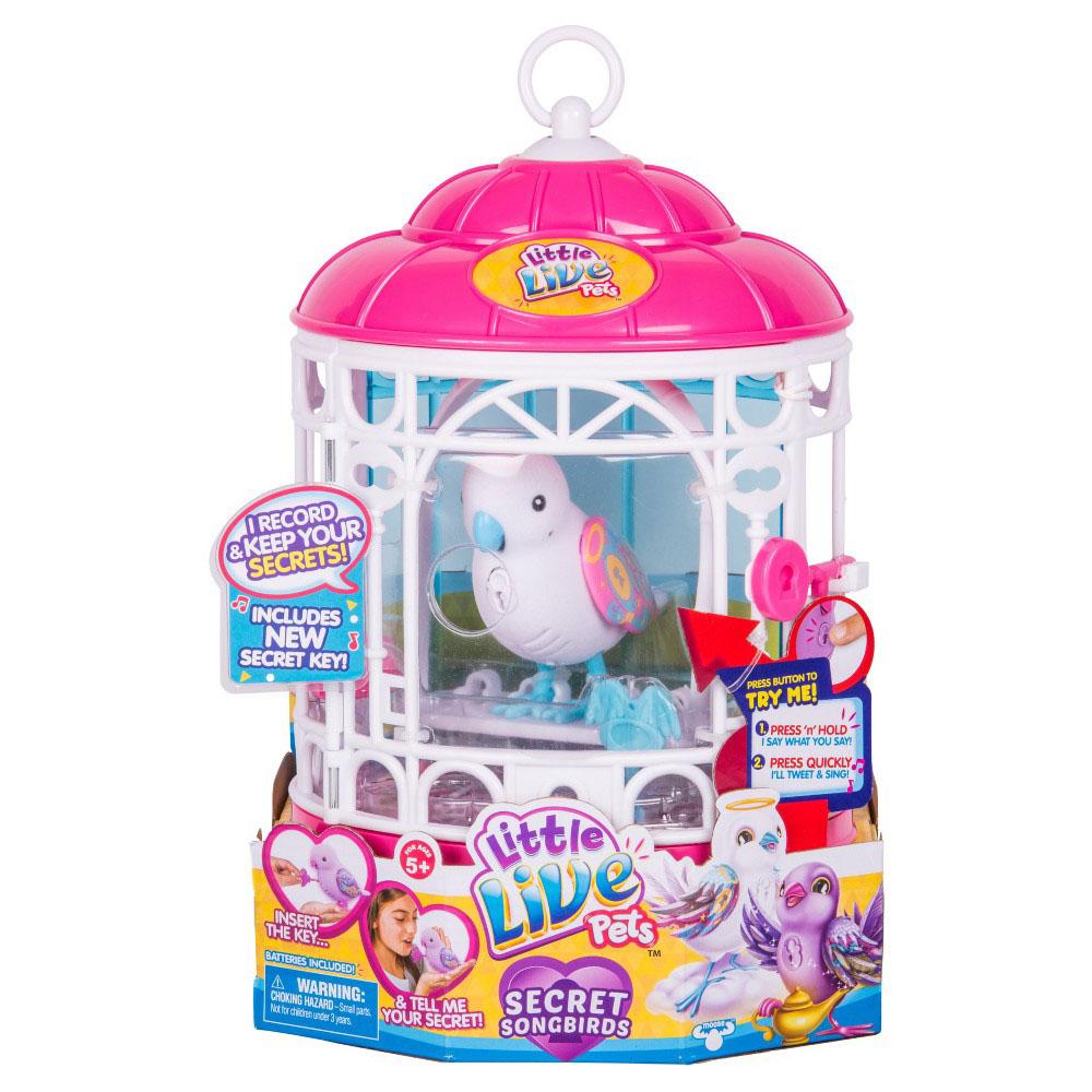 Little Live Pets - Cage d'oiseau assorties
