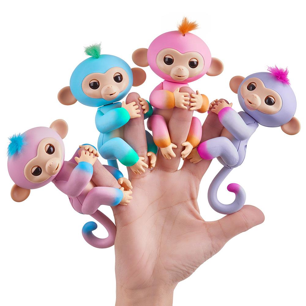 Fingerlings Bébé singe assortis