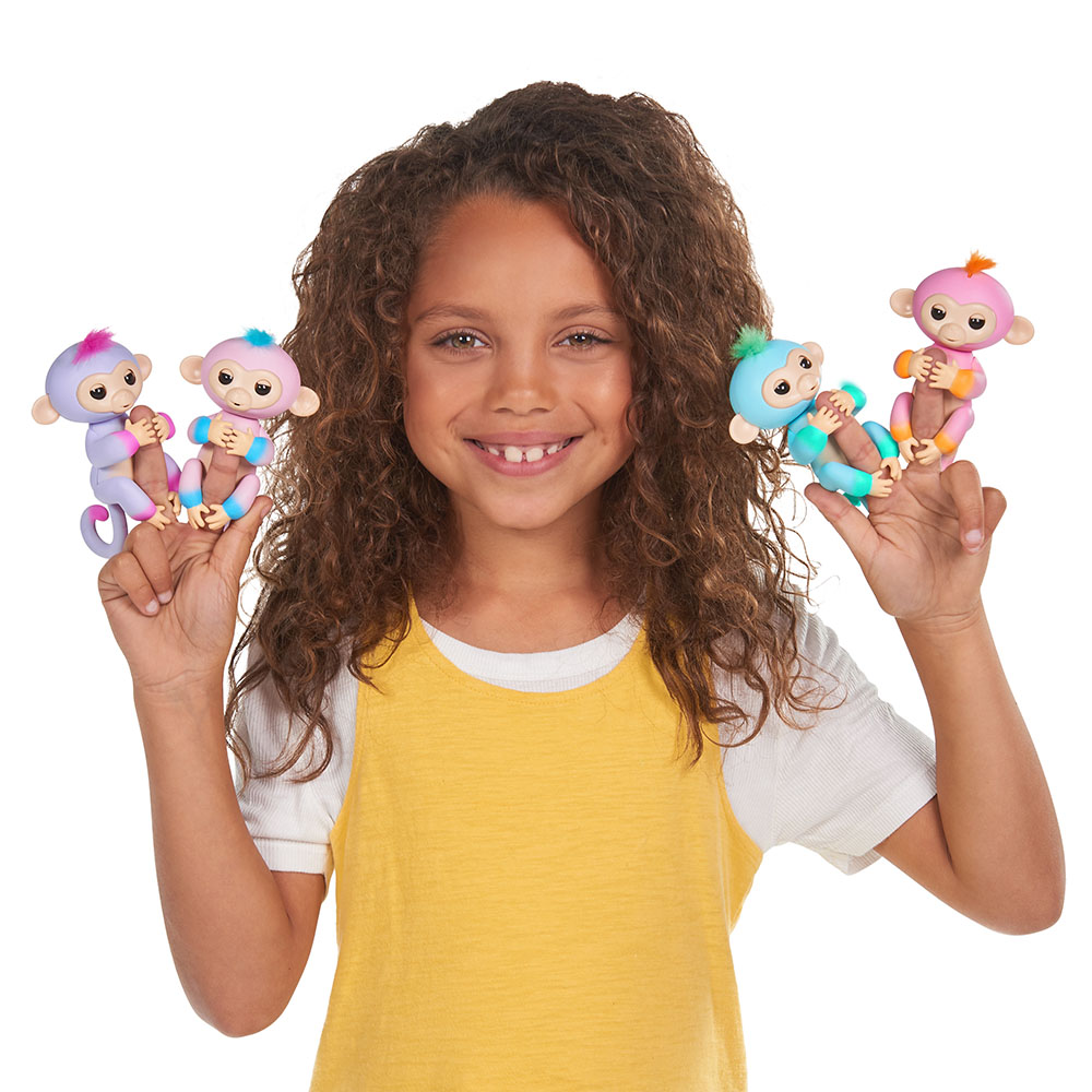 Fingerlings Bébé singe assortis