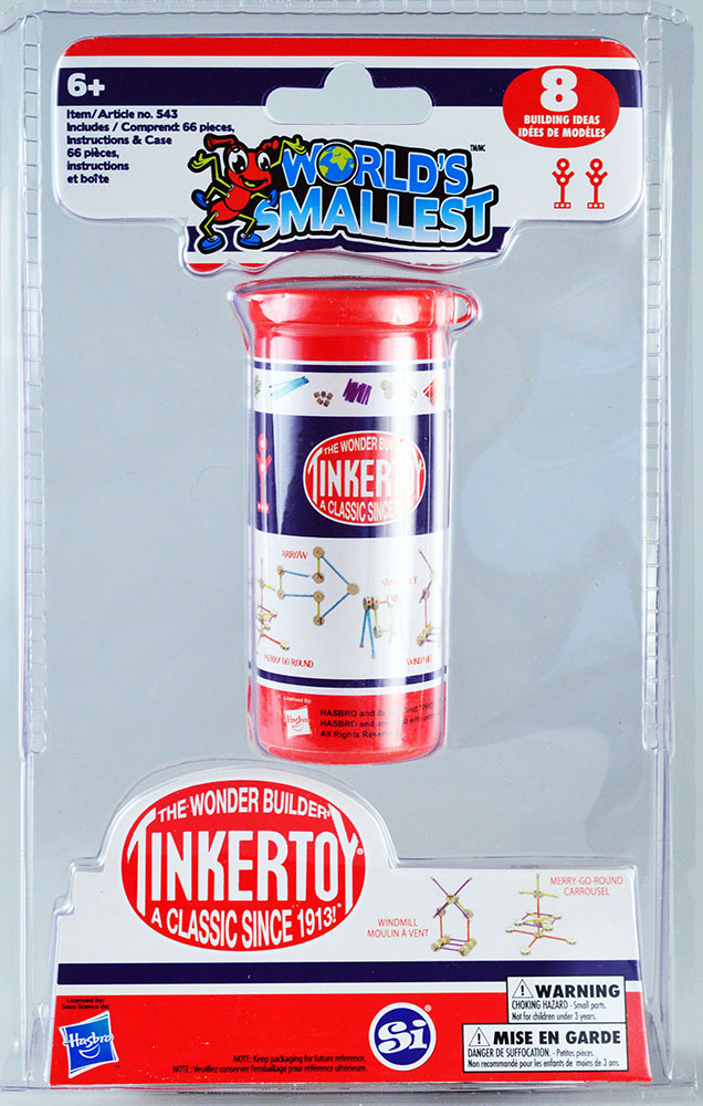 World's Smallest - Tinker Toys