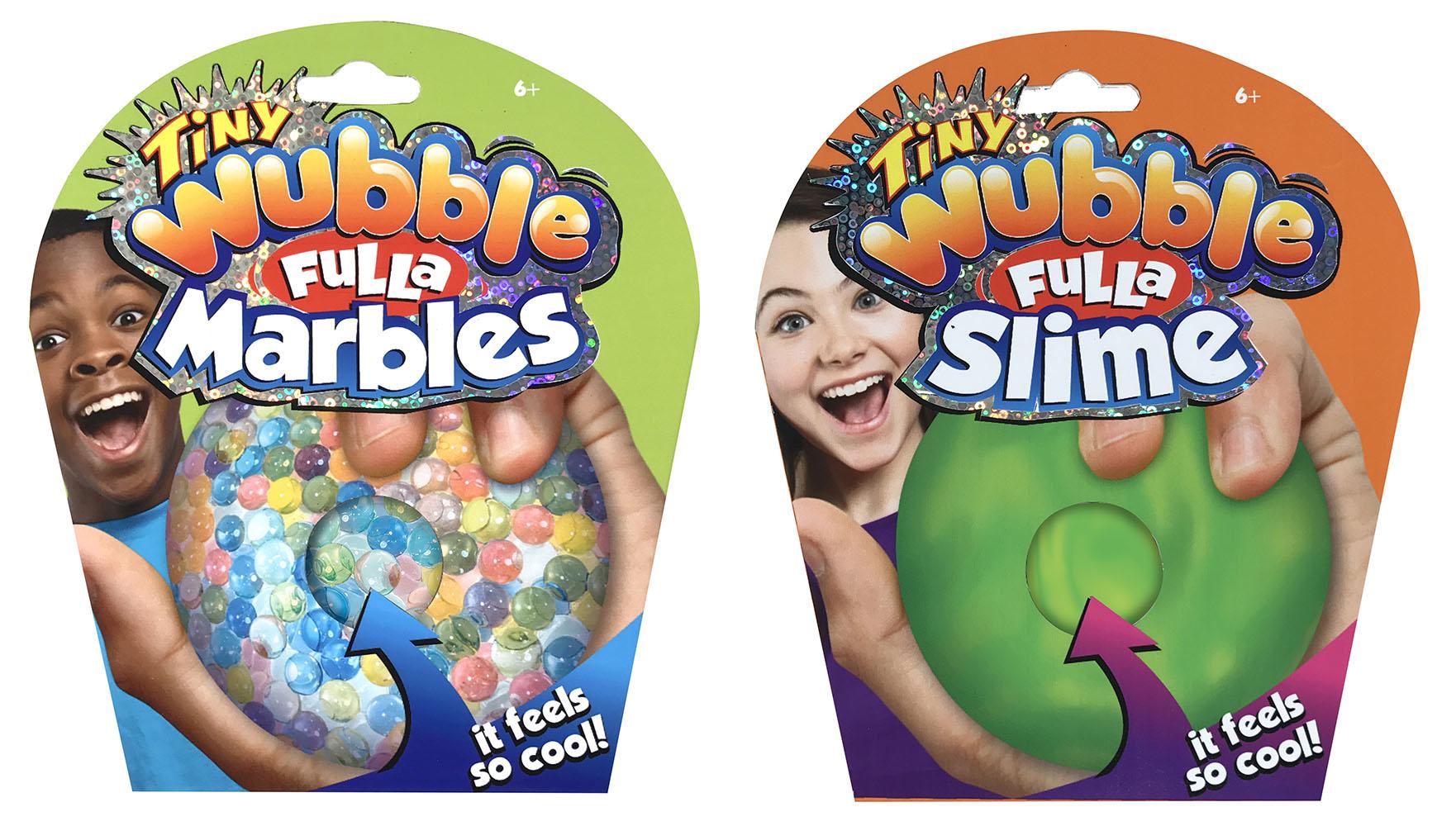 Wubble - Plein de billes glu 2.5 assortis