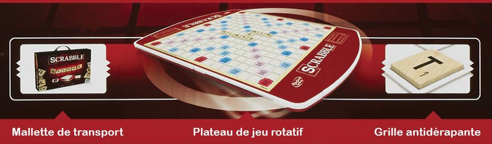 Jeu Scrabble de luxe Version française