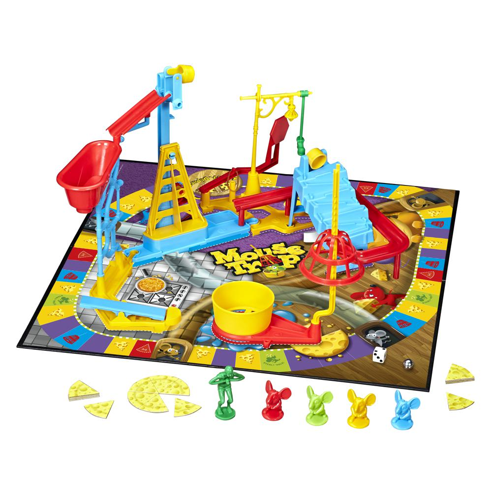 How to Build the Trap in the Mouse Trap Game 🐭 - Hasbro ...