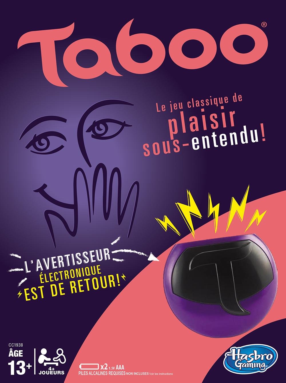 Jeu Taboo version française