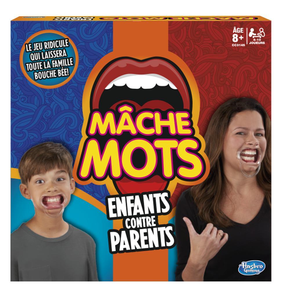 Jeu Mâche Mots Enfants vs Adultes