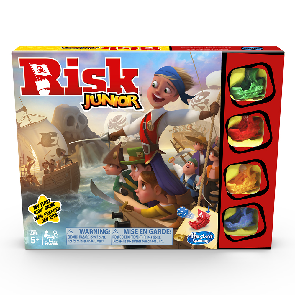 Jeu Risk Jr. - Version bilingue