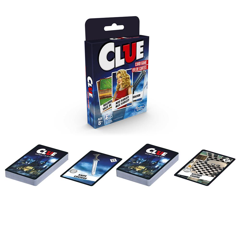 Jeu de cartes classique - Clue Version bilingue
