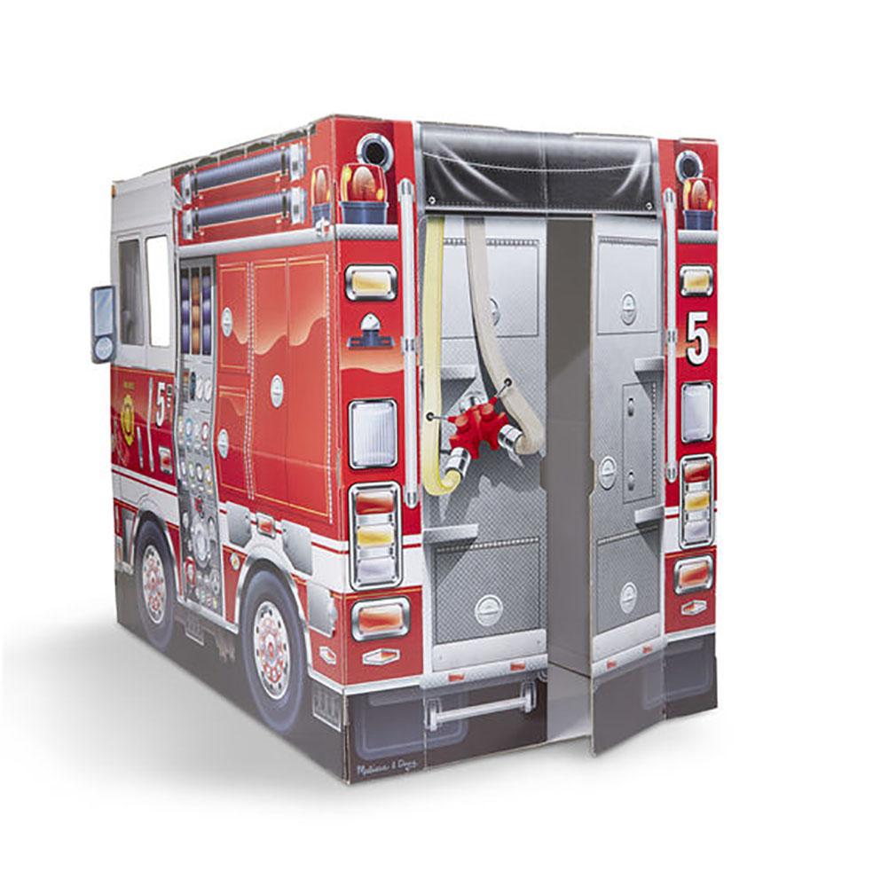De Pompier Camion En 39x33x48 Structure Carton N0Ovm8nw