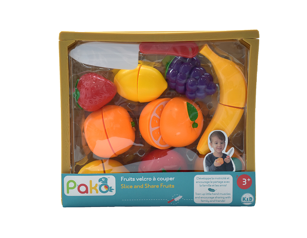 Pakö - Fruits Velcro à couper 11 pièces