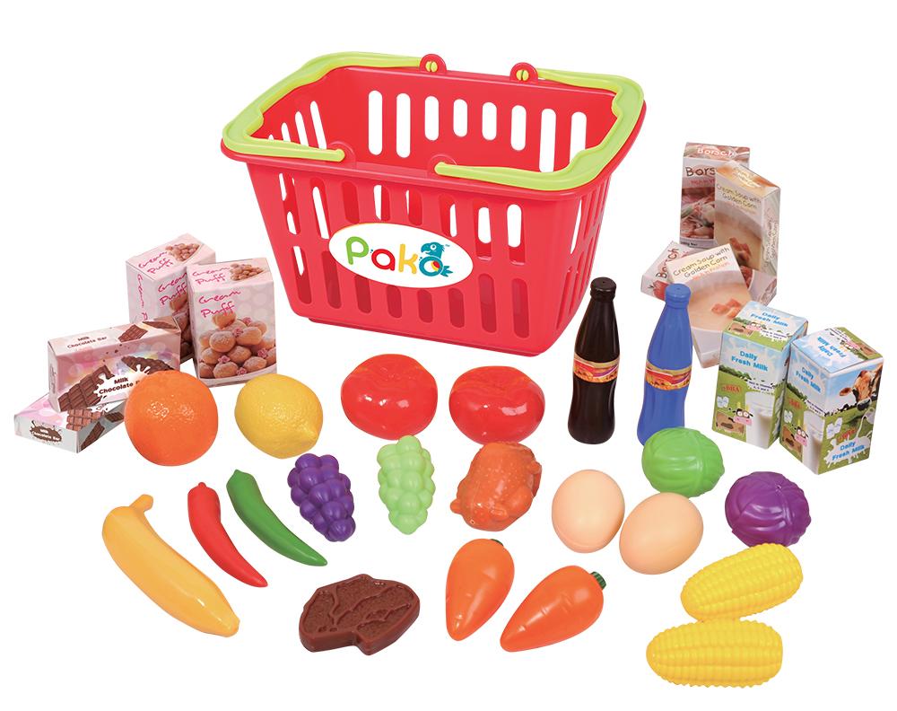 Pakö - Mon panier de nourriture 32 pièces