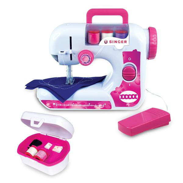 Machine coudre singer et accessoires club jouet achat for Machine a coudre jouet