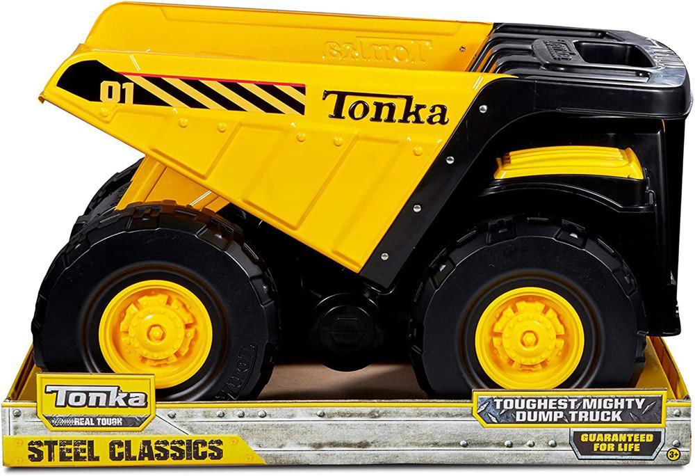 Tonka camion benne g ant club jouet achat de jeux et jouets prix club - Camion benne tonka ...