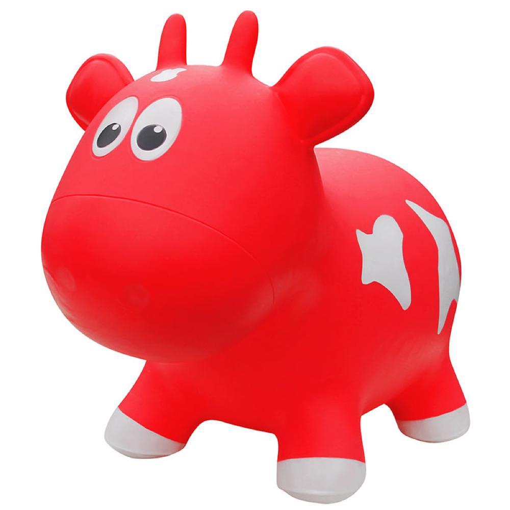 Animal sauteur - Vache rouge