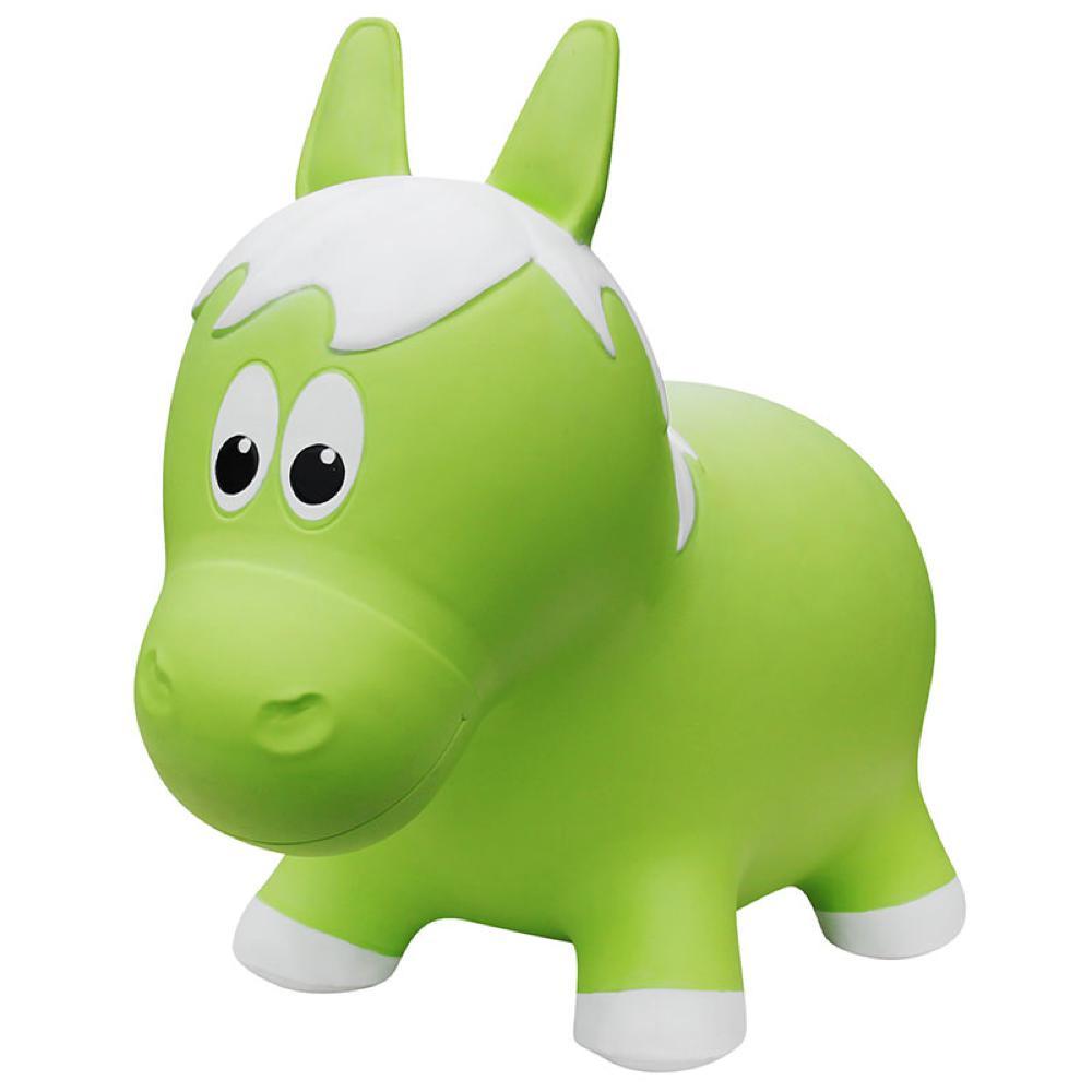 Animal sauteur - Cheval vert