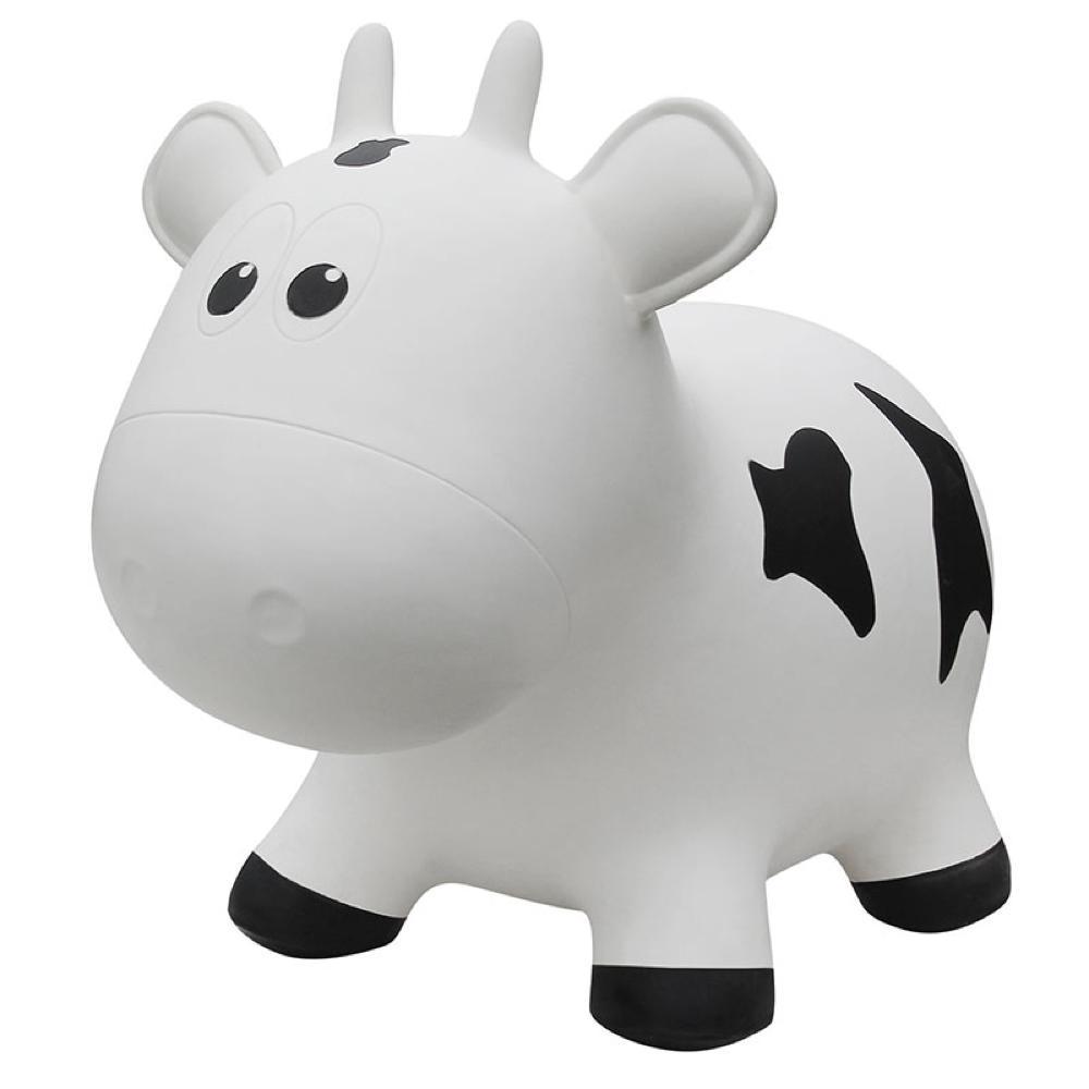 Animal sauteur - Vache blanche