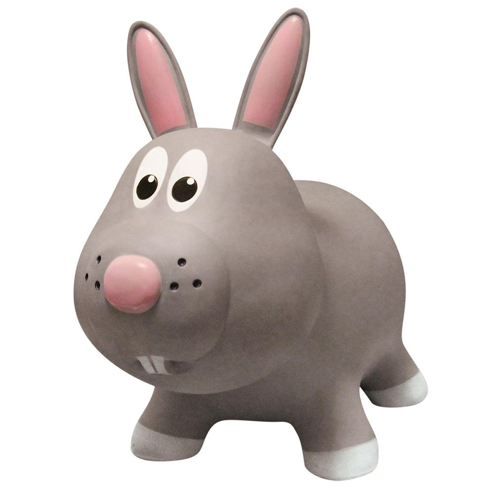 Animal sauteur - Lapin gris