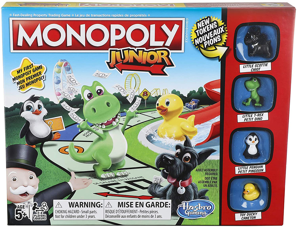 Jeu Monopoly - Junior