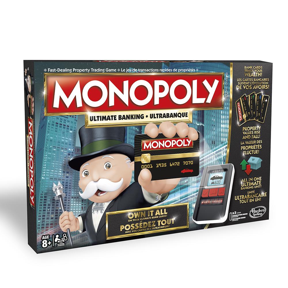 Jeu Monopoly - Ultrabanque version bilingue